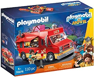 Playmobil The Movie Del'S Food Truck, 70075, 110 Pieces