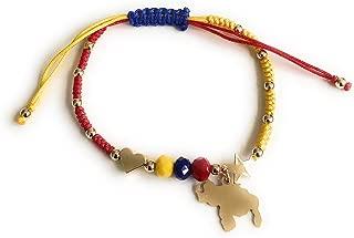 Venezuela Tricolor Bracelet Map Stars Pendants Venezuelan Gifts