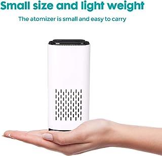 Mini purificador de aire Purificador de aire para escritorio Home Travel Car True HEPA y filtro de carbón activo, 14.8cmx7.5cm, ionizador de aire Eliminar polvo, polen, humo, cable USB