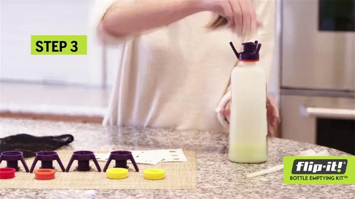 Flip-It FL4X1AP5 Bottle Emptying Kit 5-Pack Kitchen//All Purpose