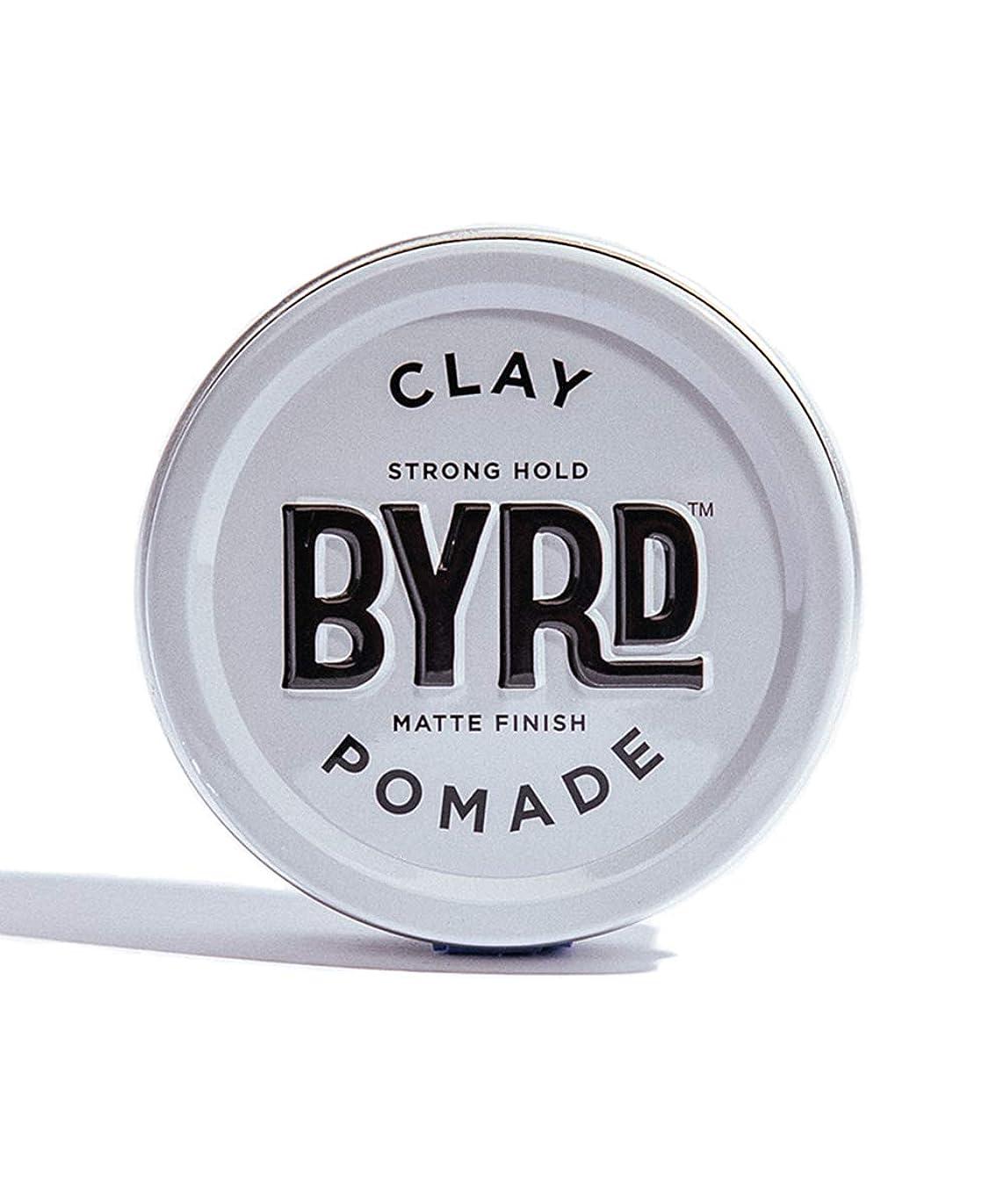 家族マスクやろうBYRD/クレイポマード 95g メンズコスメ ワックス ヘアスタイリング かっこいい モテ髪