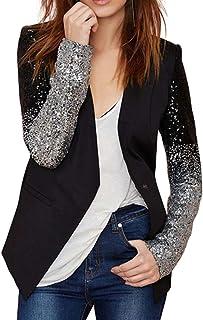 5268beeae10262 Amazon.fr : veste sequins femme : Vêtements