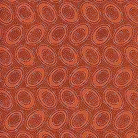 Kaffe Fassett::Aboriginal Dots 45cmx54cm:ケイフファッセット USAコットン (Orange)