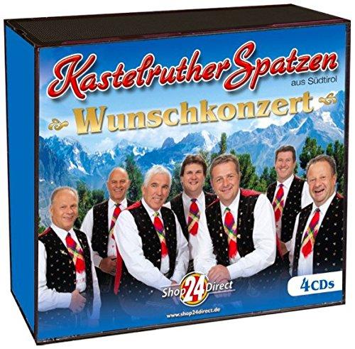 Kastelruther Spatzen - Wunschkonzert (4CD-Box)