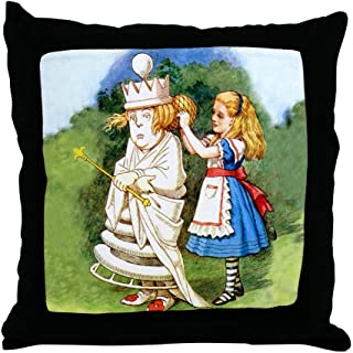 CafePress Alice and The White Queen Decor Throw Pillow (18