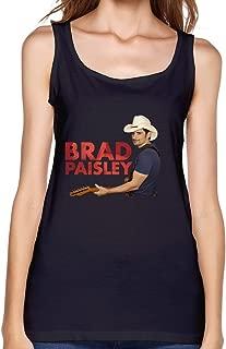 Waiting Brad Paisley Crushin' It World Tour 2015 Tank Top For Women Black