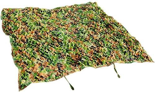 HAIZHEN Woodland Camo Metting pour le camping, l'armée, les stores, le cache-cache, le jeu des enfants (Couleur   A, taille   6×10 m)