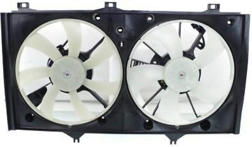 Brand Cheap Sale Venue For Toyota Max 42% OFF Highlander AC Radiator Fan 2004 Assembly 2007 05 06 w