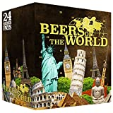 Internationaler Bier-Adventskalender | Edition Frankreich | 24 x 0,33 l internationale Bierspezialitäten | Biere der Welt