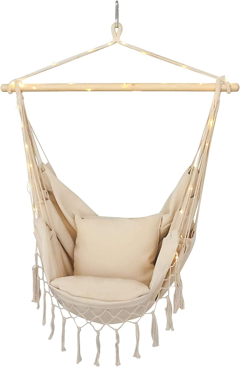 Hammock Popular Chair Made From Soft Durable Extra Including Cotton New Ultra-Cheap Deals