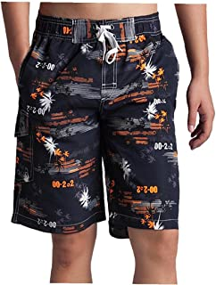 Yililay Men's Shorts Swim Trunks Casual Surf Beach Shorts Quick Dry Board Shorts Casual Home Wear Men Pajamas XXL