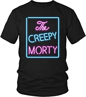 The Creepy Morty T-Shirt Bar Sign Shirt