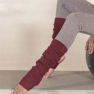 Wool Warm Yoga Socks Women Winter Professional Sports Leggings Socks Long Tube Over The Knee Pilates Socks Five Colors,Win...