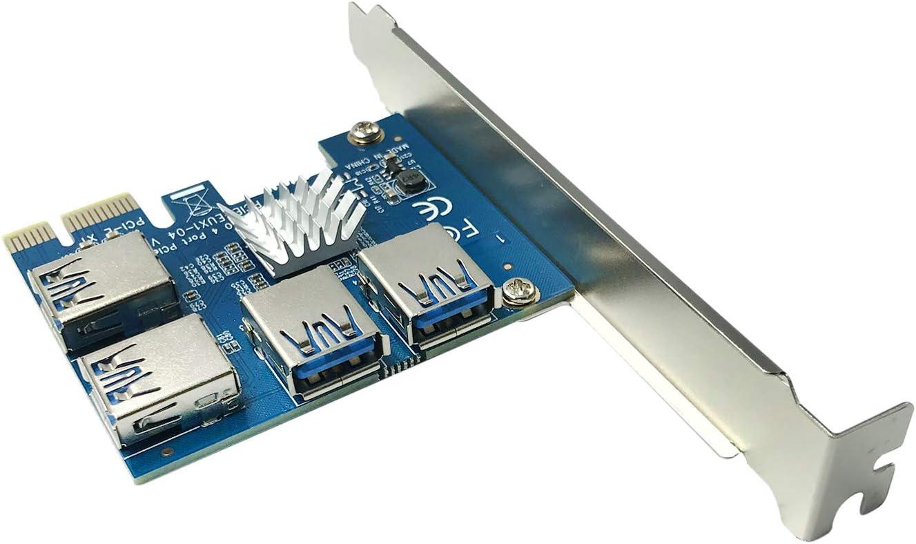 AAAwave PCI Express 1X to 16X USB3.0 4 1 Riser Ranking TOP14 Card Multiplie Regular dealer