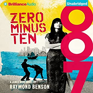 Zero Minus Ten audiobook cover art