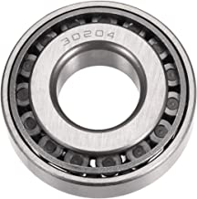 uxcell 30204 Tapered Roller Bearing Cone and Cup Set, 20mm Bore 47mm OD 14mm Thickness