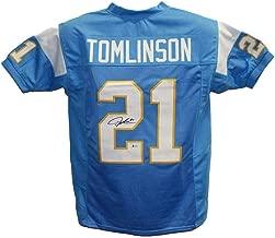 Autographed LaDainian Tomlinson Jersey - Blue XL BAS 24521 - Beckett Authentication - Autographed NFL Jerseys