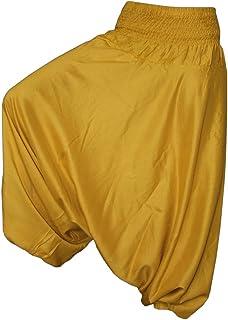 9ba9316daade63 PANASIAM Aladdin Pants, Haremshose, der Klassiker, Körpergröße von 1,80m,  Hier in 16, Qualitätsprodukt, super weich & luftig