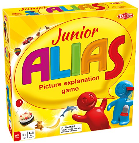 Tactic Games - Junior Alias, Gioco di Parole per i più Piccoli [Lingua Inglese]