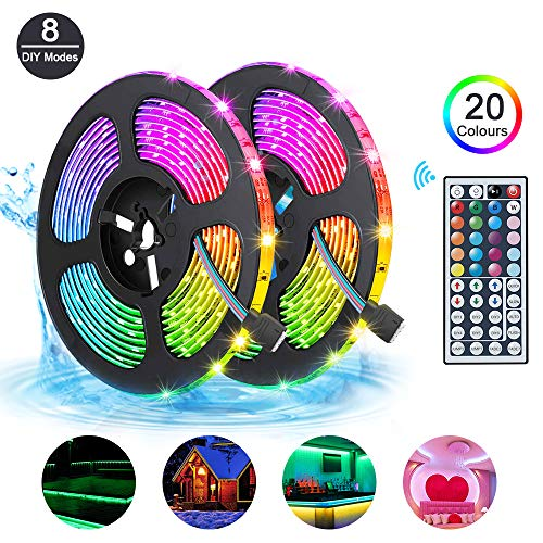 LED Strips Lights 10m Waterproof...