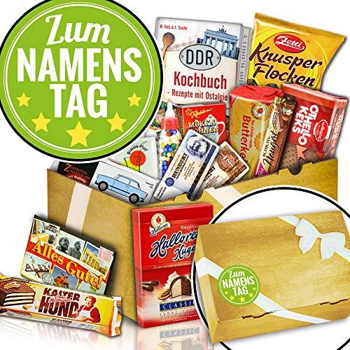 Süßigkeiten Überraschungsbox - Zum Namenstag - Namenstag Geschenk Freund