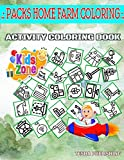 Packs Home Farm Coloring Activity And Coloring Book: 35 Activity For Moms...