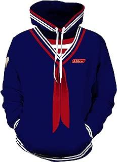 ugoccam Adult Anime Hoodie Pullover Jacket Sweatshirts