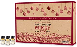 Drinks By The Dram - Hard to Find Whisky Advent Calendar (2019 Edition)