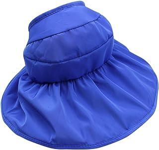 KINGSEVEN Foldable Wide Brim Bucket Sun Cap Outdoor Travel Beach Hat