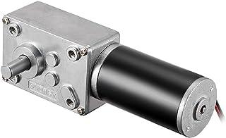 uxcell DC 24V 160-165RPM Worm Gear Motor 3kg-cm با سرعت زیاد گشتاور قابل برگشت ، توربین موتور گیربکس برقی را کاهش می دهد