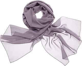 DRESSTELLS Damen Chiffon Stola Schal für Abendkleid hochzeit in Verschiedenen Farben