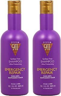 """Hayashi System 911 Ultra Moisturizing Sulfate-free Shampoo 10oz""""Pack of 2"""""""