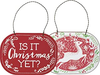 Primitives by Kathy Deer is It Christmas Yet Ornament