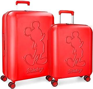 Disney Set of suitcases, Red, 68 centimeters