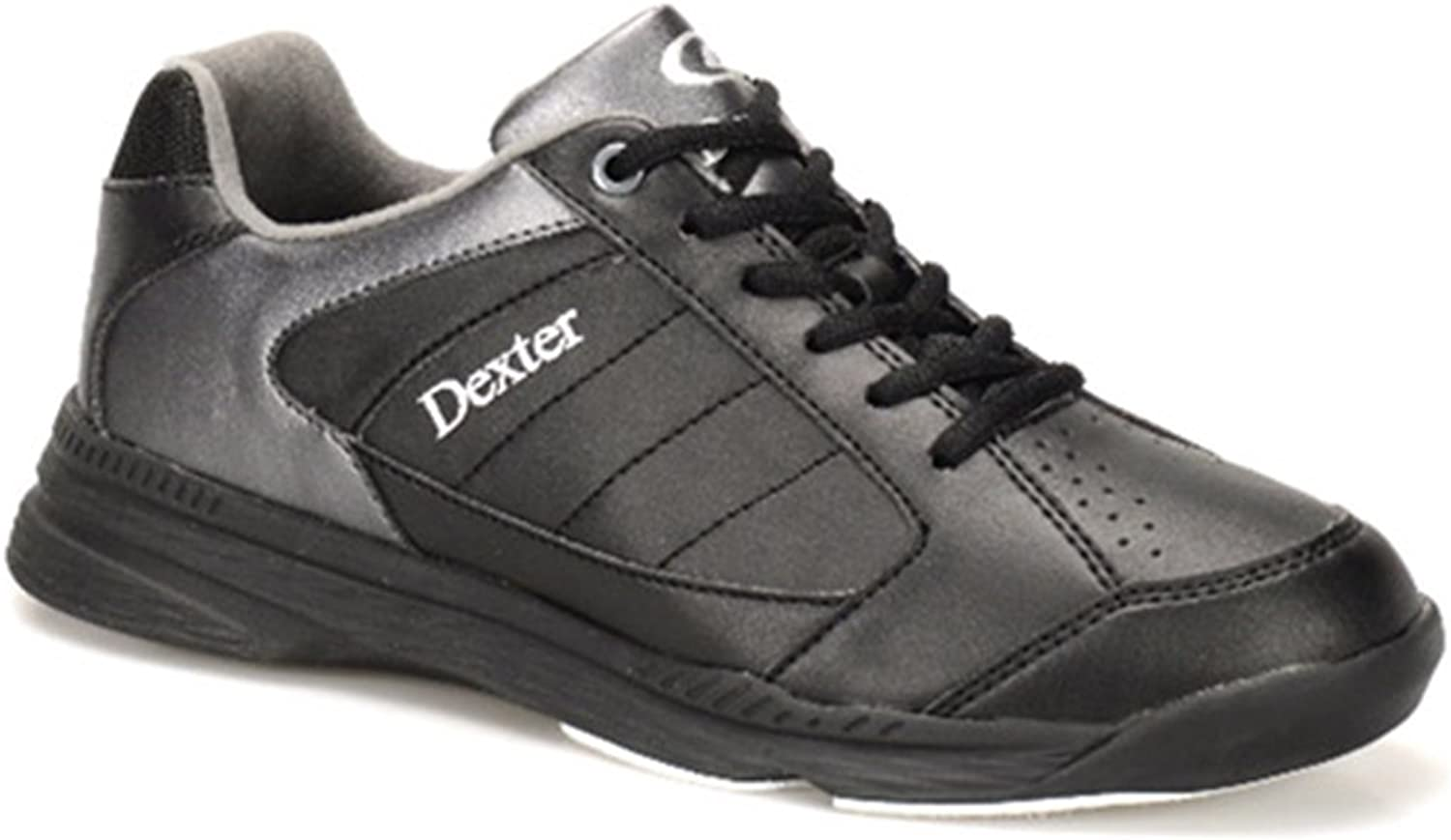 Dexter Mens Ricky IV Bowling shoes Wide-White Black