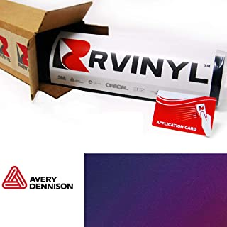 Avery SW900 551-S ColorFlow Satin Roaring Thunder Supreme Wrapping Film Vinyl Vehicle Car Wrap Sheet Roll - (120