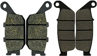 AHL Front & Rear Brake Pads Set for Honda VTX1300 S Retro/C/R/T 2003-2013 (Semi-metallic)