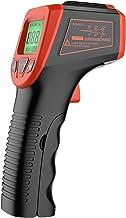 Walmeck Termómetro infrarrojo, Pistola de Temperatura láser Digital sin Contacto -58 ° F a 1112 ° F (-50 ° C a 600 ° C) con Pantalla LCD, Rojo