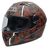NZI Vital Graphics Motorradhelm, Camouflage/Dekoration, M