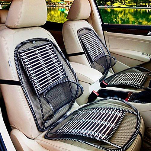 RUIX Sommer Abkühlen Lendenwirbel Universal Massagekissen Atmungsaktives Kissen Holzperlen Sitzauflage Autositzkissen