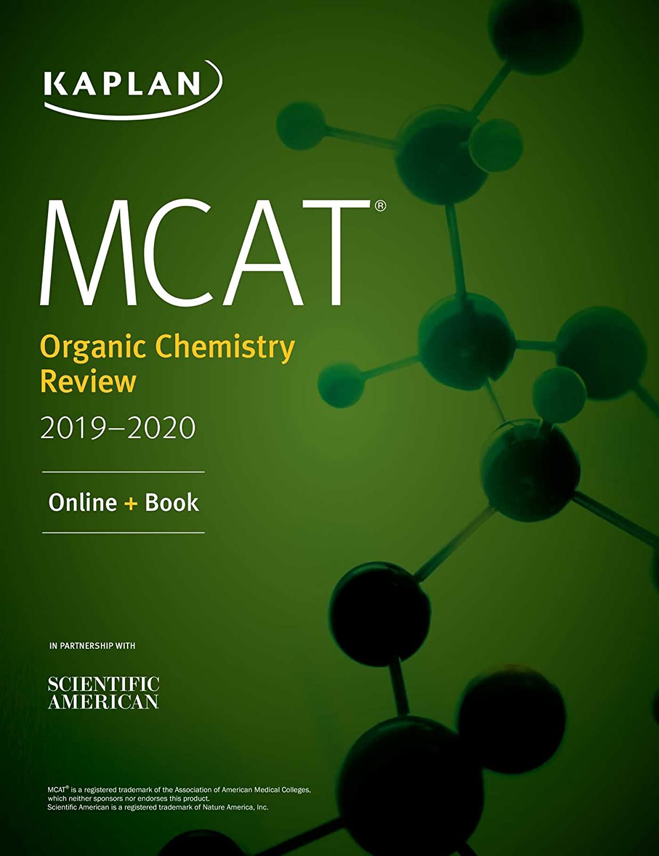不注意天才遠近法MCAT Organic Chemistry Review 2019-2020: Online + Book (Kaplan Test Prep) (English Edition)