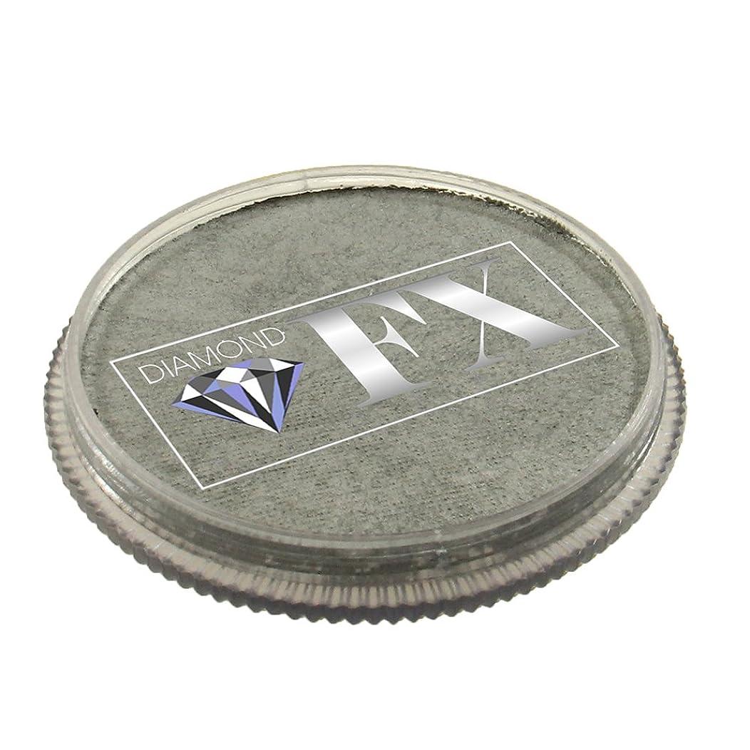 Diamond FX Metallic Face Paint - Silver (30 gm)
