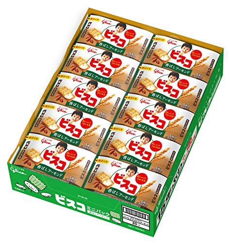 江崎グリコ ビスコミニパック 5枚 ×20個