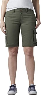 "Dickies Women's Stretch Cargo 11"" Relaxed Short"