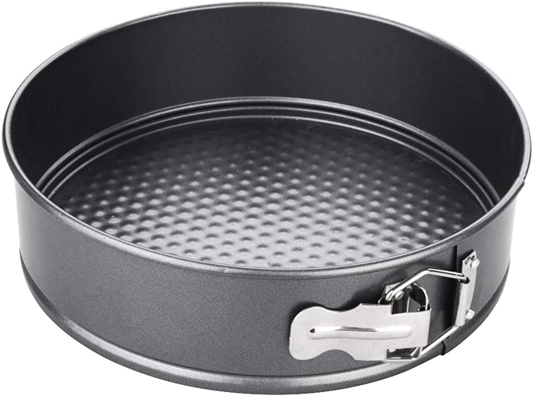 Startony Non Stick 8 Inch Round Springform Pan With Loose Base Cake Baking Tin Interlocking Bakeware