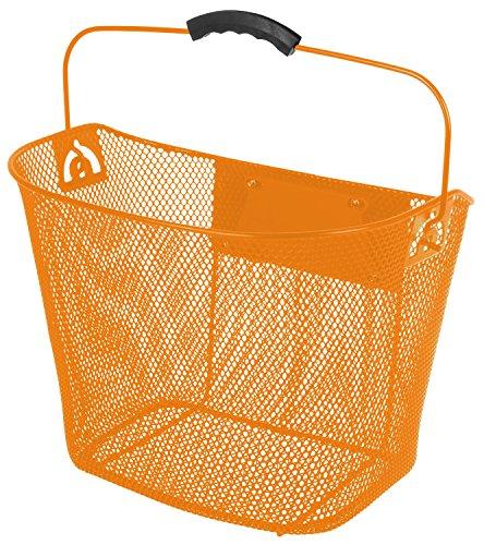 Ventura Clip-On Drahtkorb, orange, 35x25x25/22 cm