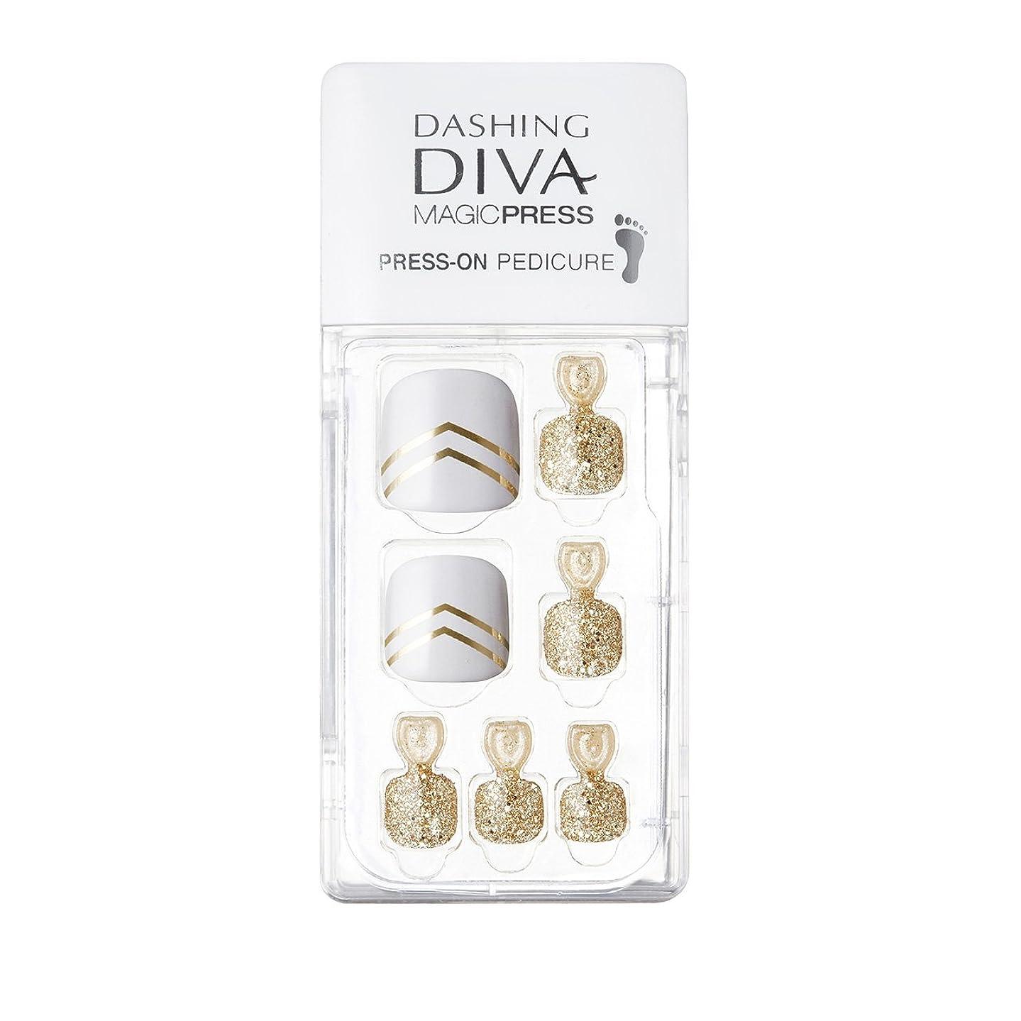 調子代わりに評議会ダッシングディバ マジックプレス DASHING DIVA MagicPress MDR001P-DURY+ オリジナルジェル ネイルチップ