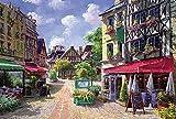 eligjhf Puzzle 1500 Pièces [Division] Caen RestaurantD Artisanat Jouet Bois Cadeau Décoration87.5x57.5cm