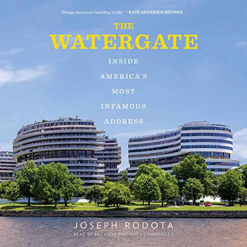 The Watergate audiobook cover art