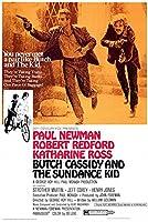 直輸入、小ポスター、米国版「明日に向って撃て」米国版、ロバート・レッドフォード、ポール・ニューマン、6045